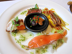 料理:冷たい前菜@フレンチ創作料理レストラン Vie Vie(ヴィ ヴィ)・鳥栖