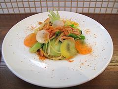 18ランチ:春野菜と桜海老のパスタ@食堂シェモア・フレンチ・イタリアン・洋食