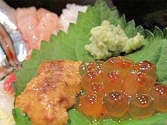 ランチ:海鮮丼ウニイクラ@海鮮炉端・一手一つ・大橋