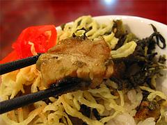 ラーメン:チャーシュー高菜丼@暖暮・博多中洲店
