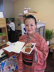 店内:デフレ弁当屋さんです。@七福弁当・春日