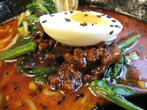 9担々麺トッピング@溢香園(いこうえん)