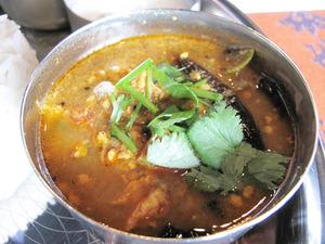 11チキンキーマ@南インド料理カーラ
