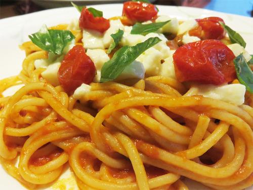 13スパゲティ・カプレーゼがん見