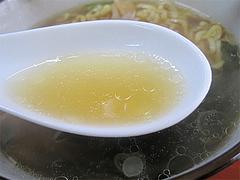 料理:中華そばスープ@中華そば源ゴロー・上呉服町