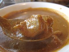 料理:チキンカレーチキン@インドレストラン・タージ・大橋