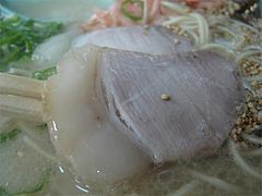 料理:ラーメンチャーシュー@博多ラーメンしばらく平和台店