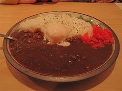 9ランチ:濃厚牛スジ煮込みカレーライス@照・TERRA(てら)・渡辺通店