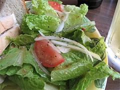 サンドイッチのサラダ@インターネットカフェ・レストラン・キャットクレア・グアム