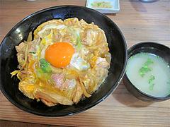 料理:北崎鶏親子丼800円@北崎鶏・親子丼・長浜ざうお