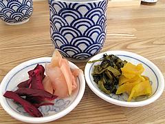 料理:取り放題の漬物4種@海鮮丼・日の出・薬院