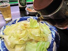 料理:キャベツに酢醤油@焼鳥みのかさ・小笹