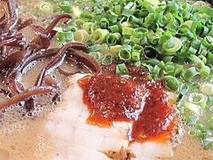 ランチ:辛味のたれ普通量@拉麺・空海・那珂川本店
