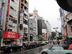 外観:天神西通り@長崎ちゃんぽん・リンガーハット・福岡大名店