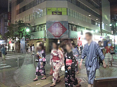 店内:窓際@プロント(PRONT)福岡新天町店・天神