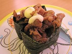 料理:牛肉@かっぱ寿司・博多半道橋店