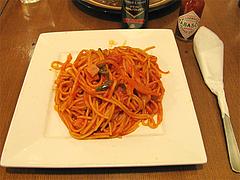 料理:ナポリタン600円@チャーリーブラウン・サンセルコ・ゴールド免許センター