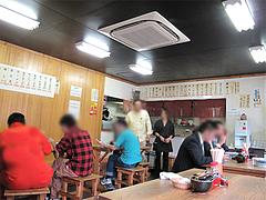 店内:テーブル席@チャンポン長崎亭・博多駅南店