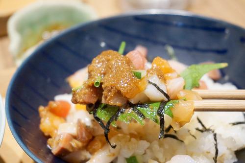 【福岡】天神ソラリアプラザで海鮮丼ランチ♪@博多おだいどこ まま魚