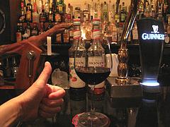 1店内:カウンター@ラカーサ・イタリアン・ワインバー