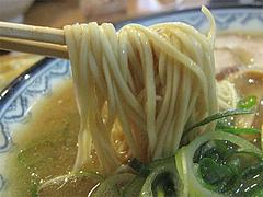 10ランチ:豚骨ラーメン麺@元祖赤のれん・節ちゃんラーメン・野間店