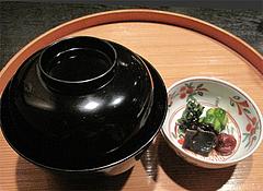 懐石:飯物@日本料理・浄水茶寮・薬院