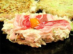 10料理:一番人気の肉玉@お好み焼ふきや・福ビル地下