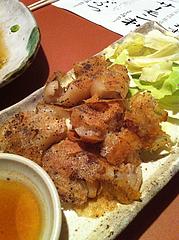 12カリカリ豚足焼き390円@居酒屋しょうき・中洲店