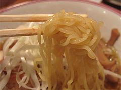 料理:ポークの角煮汁そばの麺@張子房・警固