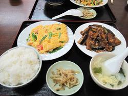 5日替わり定食650円@東方餃子房