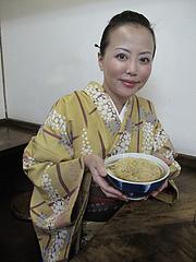 料理:ごぼう天うどん熱い@みやけうどん・呉服町