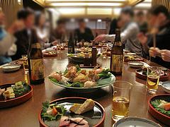 5店内:グループ利用@手打ち蕎麦・やぶ金・大名