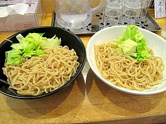 ランチ:大関(300g)と関脇(250g)@つけ麺・麺屋・光喜・福岡