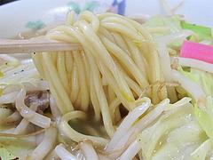 料理:ちゃんぽんの麺@タケシタベーカリー喫茶部