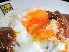 料理:半熟玉子カレー@カレー倶楽部ルウ
