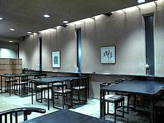店内:テーブル席@日本料理・浄水茶寮・薬院