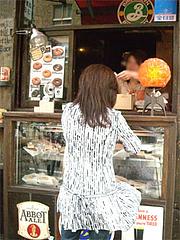 店頭のテイクアウト用ドーナツ@ケンジーズカフェ(Kenji屋)
