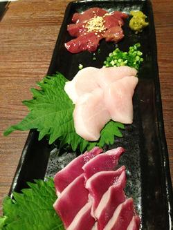 5朝引き鶏刺盛り@楽宴