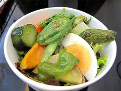 料理:近藤さんちの有機野菜サラダ@生パスタOOIWA(オオイワ)・平尾