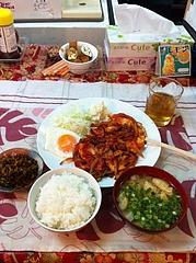 10ランチ:チキンソテー定食500円@ビック鯛はのぼる・サンセルコ