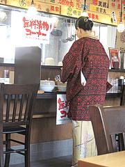 18店内:無料漬物コーナー@濃厚つけ麺・風雲丸・福岡鶴田店