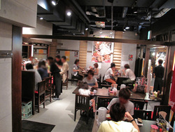 6店内@おとど・ラーメンスアジアム
