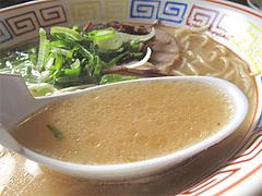 6ランチ:ラーメンスープ@博多ラーメン・未羅来留亭(ミラクル亭)・平尾