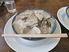 10ランチ:チャーシュー麺630円@博多ラーメン・しばらく ・福重店