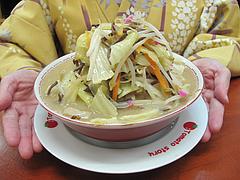 7ランチ:野菜山盛りチャンポンアップ@威風堂々・居酒屋・六本松