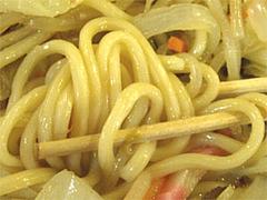 ちゃんぽんの麺@ちゃんぽん処現屋(うつつや)