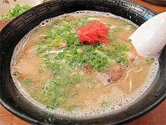 料理:ラーメン500円@博多ラーメンばりこて長浜店