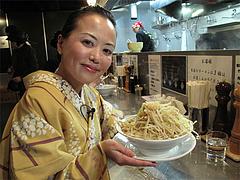 料理:らーめんの記念撮影@らーめん大・福岡大橋店
