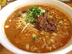 料理:赤坦々麺580円@晴商店(はれしょうてん)・福岡市南区那の川