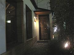 外観:入り口@bar(バー)永田